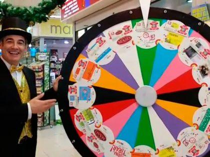 Ruleta de la suerte actividades promocionales